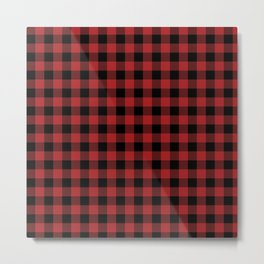 Buffalo Plaid Metal Print