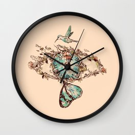Watching the Passage of Time Wall Clock