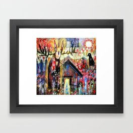 The House Of My Ancestors Framed Art Print