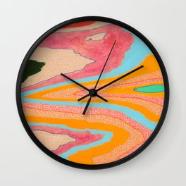 landslide Wall Clock