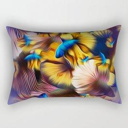 Ultraviolet Splendens Rectangular Pillow
