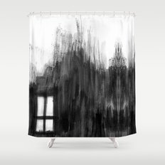 window shadow Shower Curtain