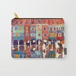 Rainy day in Poznań, Poland Carry-All Pouch