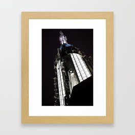 A-Spire for Greatness Framed Art Print