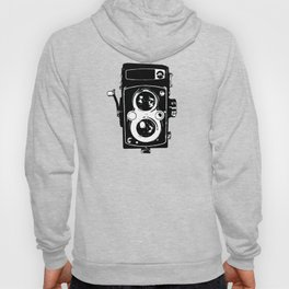Big Vintage Camera Love - Black Hoody