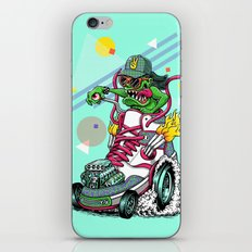 RIDE IT, KICK IT! iPhone & iPod Skin