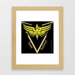 Instinct Team - Show Your Pride Framed Art Print