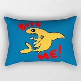Bite Me Rectangular Pillow