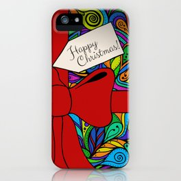 Christmas all wrapped up! iPhone Case