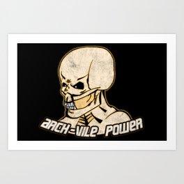 Arch-Vile Power Art Print