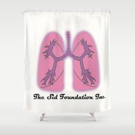 The Sid Foundation Inc. Logo Shower Curtain