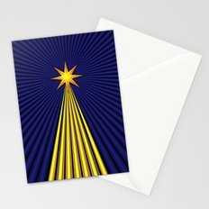 Christmas Star Stationery Cards