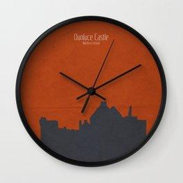 Dunluce Castle, Northern Ireland Wall Clock