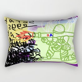 This is the USA Rectangular Pillow