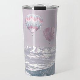 Surreal Journey In A Hot Air Ballon Travel Mug