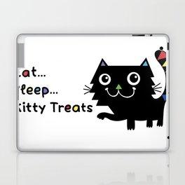 Eat, Sleep, Kitty Treats  Laptop & iPad Skin