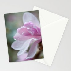 spring pink magnolia flower photography.   Stationery Cards