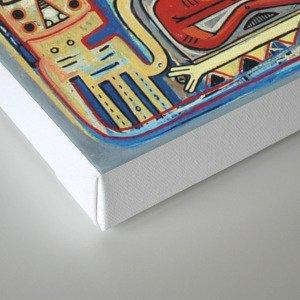 Démon 832 Canvas Print