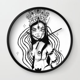Little Witch Wall Clock