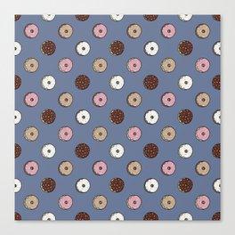 Polka Donut Canvas Print