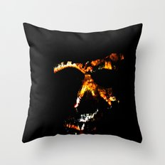 Death Charmer Throw Pillow