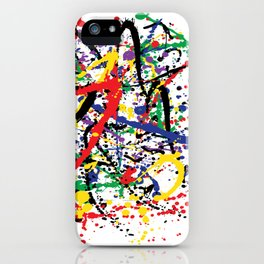 Pollock Remembered by Kathy Morton Stanion iPhone Case