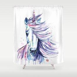 Unicorn - Gust Shower Curtain