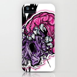 Skull CRUNCH ! iPhone Case
