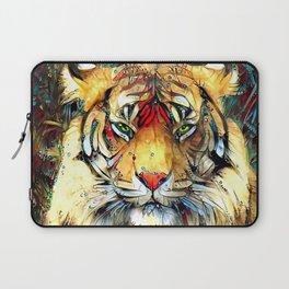 Fantazi (Tiger is Not Amused II) Laptop Sleeve