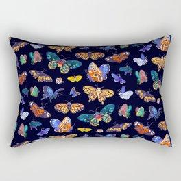 Butterflies Day Rectangular Pillow