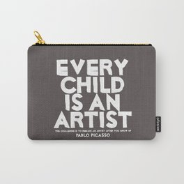 Artist - Quotable Series Carry-All Pouch