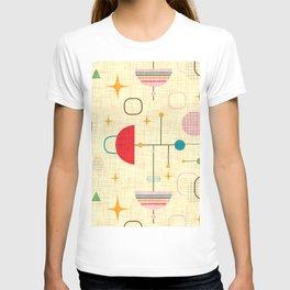 Atomic pattern umbrellas   #midcenturymodern T-shirt