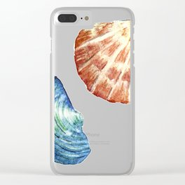 Colorful Shells Clear iPhone Case