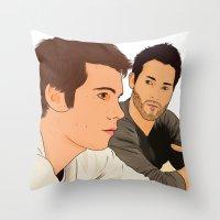 san diego Throw Pillows featuring san diego by Finduilas