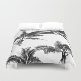 Palm Trees from Below Duvet Cover
