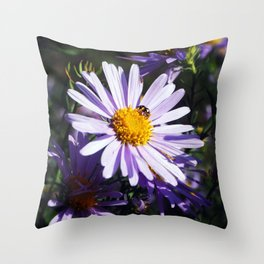 Busy Bee By LyubovArt Throw Pillow