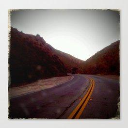 Sierra Highway Canvas Print