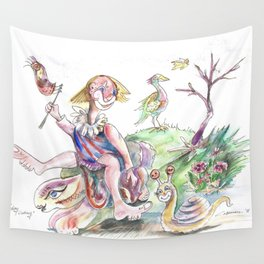 R.B.Sunday Outing Wall Tapestry