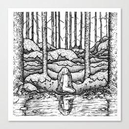 John Bauer Tuvstarr Canvas Print
