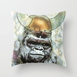 Party Animal by Aaron Bir Throw Pillow