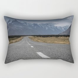 Mount Cook Road 2 Rectangular Pillow