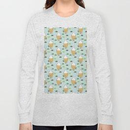 Everyone Poops Pattern Long Sleeve T-shirt