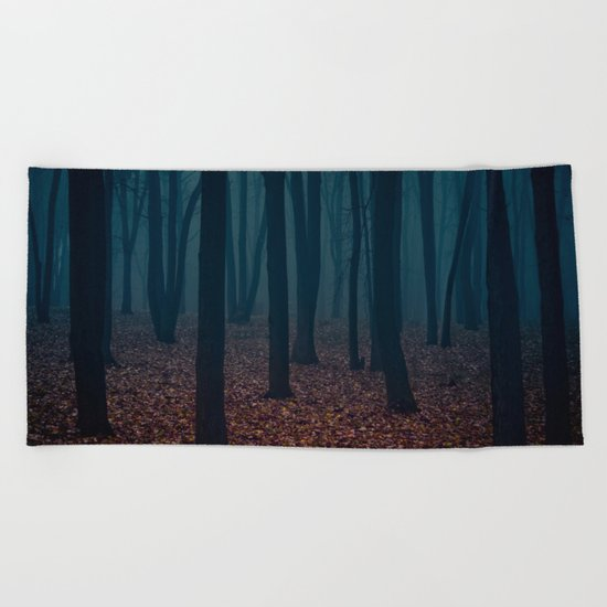 WITCHES FOREST Beach Towel