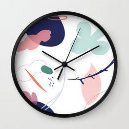 Interactive vibes Wall Clock
