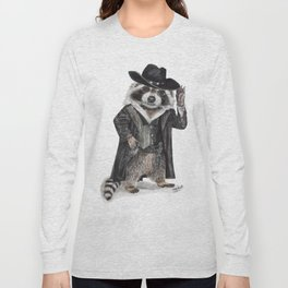 Raccoon Bandit Long Sleeve T-shirt