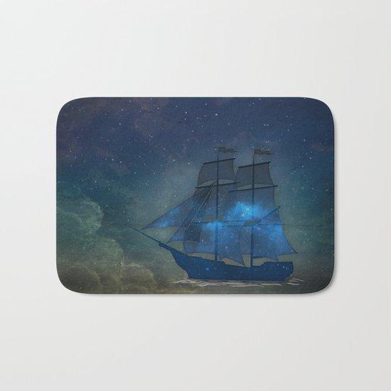 Ships and Stars Bath Mat