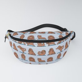 Cocker Spaniel  Yoga Fanny Pack