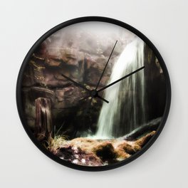 The Forgotten Cascades Wall Clock
