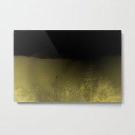 Forest-Mustard Metal Print