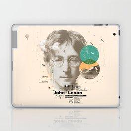 john lenon-imagine Laptop & iPad Skin